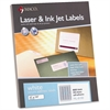 "MACO White Laser/Ink Jet Return Address Label - Permanent Adhesive - 0.50"" Width x 1.75"" Length - 80 / Sheet - Rectangle - Laser, Inkjet - White - 8000 / Box"
