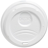 Dixie PerfecTouch Hot Cup Lid - Dome - Plastic - 100 Lids/Pack - 1000 / Carton