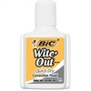 BIC Wite-Out Correction Fluid - 0.68 fl oz - White - 1 / Pack
