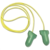 Sperian MAX Lite Pre-shaped Ear Plugs - Foam - Green, Yellow - 100 / Box