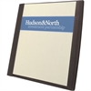 "GBC® Frosted Front Report Cover Tall Pocket - Letter - 8 1/2"" x 11"" Sheet Size - 50 Sheet Capacity - Stock - Black - 5 / Pack"