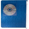 Adhesive CD Holders - 5 pack - Sleeve - Slide Insert - Polyvinyl Chloride (PVC) - Clear - 1 CD/DVD