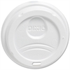 Dixie WiseSize Hot Cup Lid - Dome - 100 / Pack