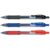 Zebra Pen Sarasa Gel Pen - Bold Point Type - 0.7 mm Point Size - Assorted, Blue, Red Gel-based Ink - Translucent Barrel - 3 / Pack