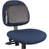 "Rubbermaid Adjustable Lumbar Backrest - Hook & Loop, Adjustable - 12.9"" x 2.8"" x 10.8"" - Black"
