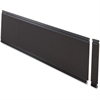 "Lorell Desktop Panel System Fabric Panel - 45.9"" Width11.8"" Height x 500 mil Thickness - Fabric, MDF, Aluminum - Black"