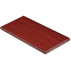 "Lorell Desktop Panel System Transaction Top - 29.5"" Width x 11.8"" Depth1"" Thickness - Particleboard, Melamine - Mahogany"