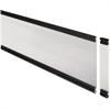 "Lorell Desktop Panel System Glazed Panel - 34.8"" Width11"" Height x 500 mil Thickness - Plexiglass, Aluminum - Clear"
