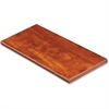 "Lorell Desktop Panel System Transaction Top - 41.4"" Width x 11.8"" Depth1"" Thickness - Particleboard, Melamine - Cherry"