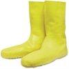 Norcross Safety Servus Disposable Latex Booties - Large Size - 12 Boot Size - Yellow - 1 / Pair
