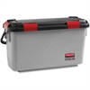 "Rubbermaid Microfiber Pulse Mop Charging Bucket - 13.5"" x 10.5"" - Gray"