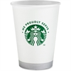 Starbucks Compostable 12oz Hot/Cold Cups - 12 oz - 1000 / Carton - White - Polylactic Acid (PLA) - Hot Drink, Cold Drink