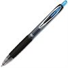 Uni-Ball 207 Medium Needle Point Pens - Medium Point Type - 0.7 mm Point Size - Needle Point Style - Blue Pigment-based Ink - Black Barrel - 1 Dozen