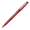 Pilot Fineliner Markers - Fine Point Type - 0.7 mm Point Size - Red - 1 Dozen