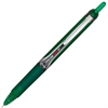 PRECISE V5 RT Rollerball Pens - Extra Fine Point Type - 0.5 mm Point Size - Needle Point Style - Refillable - Green - Green Barrel - 1 Dozen