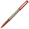 PRECISE V5 Rolling Ball Pen - Extra Fine Point Type - Needle Point Style - Refillable - Red - 1 Dozen