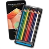 Prismacolor Thick Core Colored Pencils - Assorted Lead - Assorted Barrel - 12 / Set