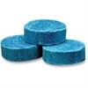 Genuine Joe Deodorant Block - Non-para Deodorizer, Water Soluble, Acid-free - 144 / Carton - Blue