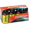 Eveready Gold Alkaline C Batteries - C - Alkaline - 96 / Carton