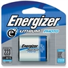 Energizer 223 e2 Lithium Photo 6-Volt Battery - CR223 - Lithium (Li) - 6 V DC - 24 / Carton