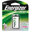 Energizer 9V Recharge Battery - 9V - Nickel Metal Hydride (NiMH) - 9 V DC - 24 / Carton