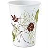 Dixie Pathways Design Polylined Hot Cups - 12 oz - 1000 / Carton - White - Paper - Hot Drink