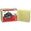 "Brawny Industrial Dusting Cloths - Wipe - 17"" Width x 24"" Length - 200 / Carton - Yellow"