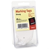 "Avery Medium Weight Stock Marking Tags With String - 0.75"" Length x 1.09"" Width - 100 / Pack - Polyester - White"