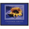 "Advantus Customer Service Framed Print - Customer Service - 30"" Width x 24"" Height"