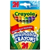 Crayola Model Magic Washable Crayons - Assorted - 24 / Box