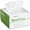 AccuWipe White 1-Ply Delicate Task Wipers - For Precision Part, Instrument, Lens - Absorbent, Soft, Non-abrasive, Disposable, Streak-free - Fiber - 280 / Box - White