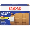 "Band-Aid Flexible Fabric Adhesive Bandage - 1"" - 100/Box - Beige"