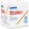 "Wypall L40 Cleaning Wipe - 12.50"" x 13"" - White - Soft, Absorbent - For General Purpose - 56 Sheets Per Pack - 18 / Carton"