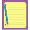 "Trend Classroom Paper Note Pad - 50 Sheets - Printed - 5"" x 5"" - 50 / Pad"