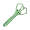 "Westcott Kleenearth Blunt Blade Safety Scissors - 1.75"" Cutting Length - 5"" Overall Length - Straight-left/right - Stainless Steel - Blunted Tip - Green"