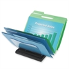 "Document Browser - 5 Compartment(s) - 6.4"" Height x 8.1"" Width x 11.6"" Depth - Desktop - Black - 1Each"