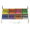 Prang Master Pack Regular Crayons - Assorted - 400 / Carton