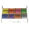 Master Pack Regular Crayons - Assorted - 400 / Carton