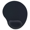 "Comp Gel Mouse Pad - 9"" x 10"" x 1"" Dimension - Black - Gel"