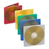 Compucessory Extra Thin CD/DVD Jewel Case - Jewel Case - Slide Insert - Plastic - Assorted