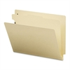 "Sparco 3/4"" Expanding Medical File Folders - 3/4"" Expansion - 2"" Fastener Capacity for Folder - 1 Divider(s) - 11 pt. Folder Thickness - Manila - Recycled - 40 / Box"