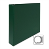 "Sparco Round Ring Binder - 1 1/2"" Binder Capacity - Letter - 8 1/2"" x 11"" Sheet Size - 3 x Round Ring Fastener(s) - 2 Inside Front & Back Pocket(s) - Vinyl - Green - 1 Each"