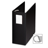 "Slanted Ring Binder with Label Holder - 5"" Binder Capacity - Letter - 8 1/2"" x 11"" Sheet Size - D-Ring Fastener - Black - 1 Each"