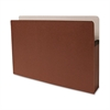 "Accordion Expanding File Pocket - Legal - 8 1/2"" x 14"" Sheet Size - 3 1/2"" Expansion - Redrope - Redrope - Recycled - 25 / Box"
