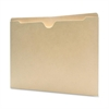 "Sparco Flat File Pocket - Letter - 8 1/2"" x 11"" Sheet Size - 11 pt. Folder Thickness - Manila - Recycled - 100 / Box"