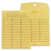 "Sparco Inter Department Envelope - Interoffice - 10"" Width x 13"" Length - 28 lb - Self-sealing - Kraft - 100 / Box - Kraft"