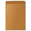 "Plain Cataloge Envelope - Catalog - #13 1/2 - 10"" Width x 13"" Length - 28 lb - Gummed - Kraft - 250 / Box - Brown"