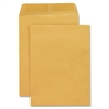 "Sparco Open End Document Mailer - Document - #10 1/2 - 9"" Width x 12"" Length - 20 lb - Gummed - Kraft - 250 / Box - Kraft"