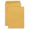 """Open End Document Mailer - Document - #10 1/2 - 9"""" Width x 12"""" Length - 20 lb - Gummed - Kraft - 250 / Box - Kraft"""
