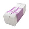 Sparco $2000 Bill Strap - 1000 Wrap(s) - Kraft - Violet